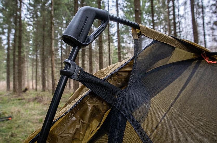 REI flash air 1 pole and trekking pole mechanism