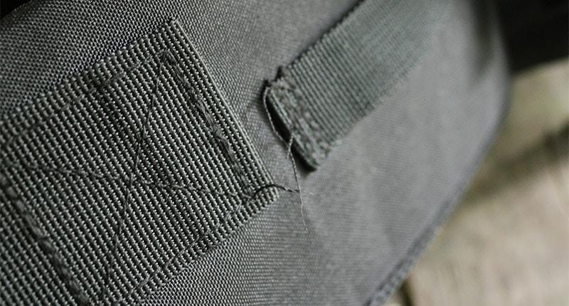 Teton Scout 3400 loose thread on the hip belt