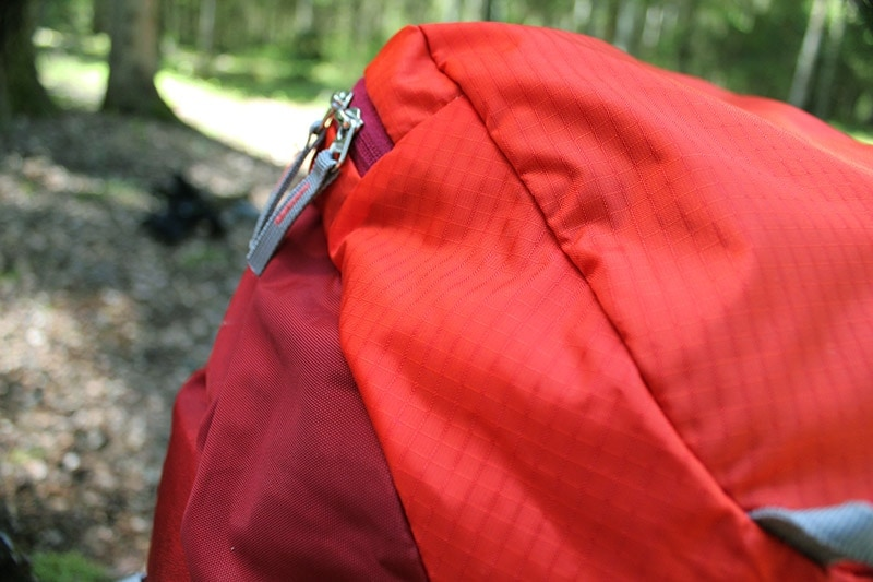 Fabric close-up of the Mountaintop backpack