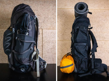 How to Attach Tent to Backpack (To Not Hurt Your Back)