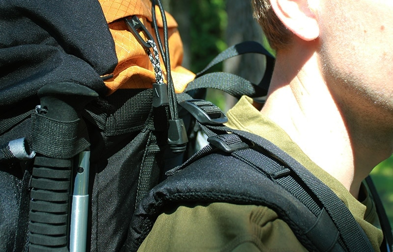 The load lifter straps on the Teton Sports Scout 3400