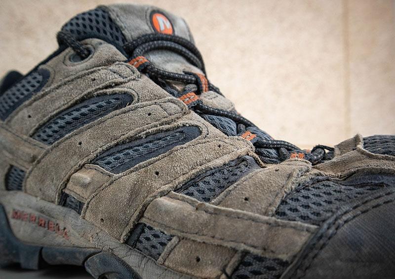 merrell moab 2 vent close-up