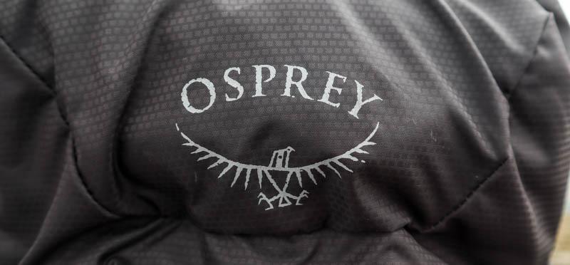 Osprey logo backpack fabric