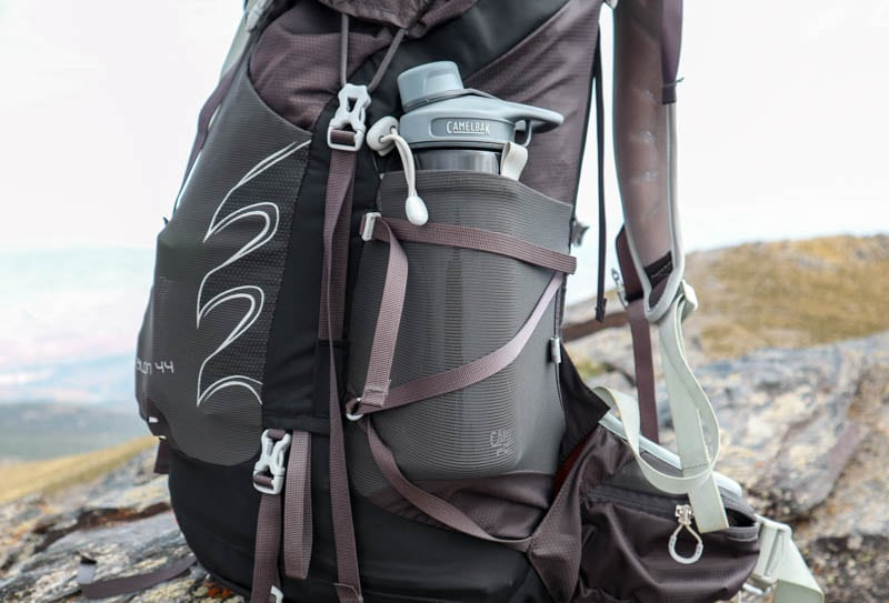 Osprey Talon 44 side pocket