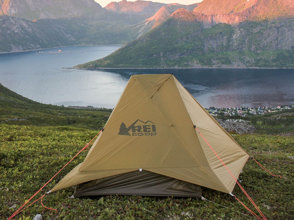 Rei Flash Air ultralight tent in Norway