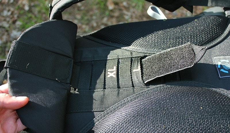 Teton 4000 adjustable torso length strap