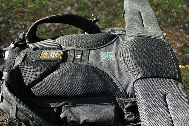 Teton 4000 back padding