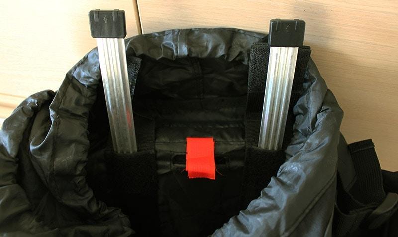 Teton 4000 internal aluminum frame