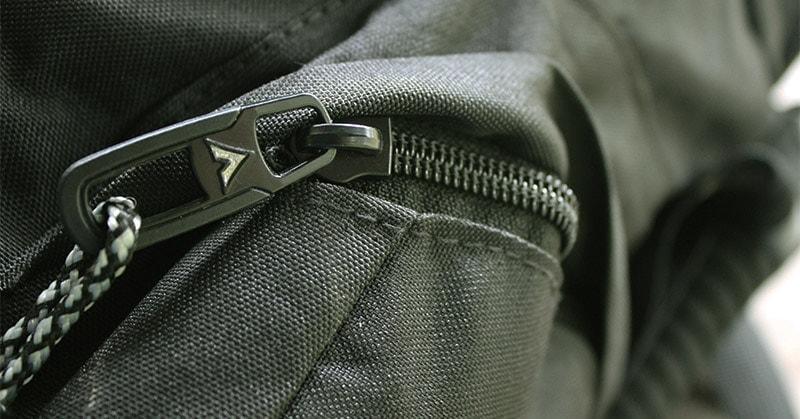 Teton Sports Scout 3400 side pocket zipper