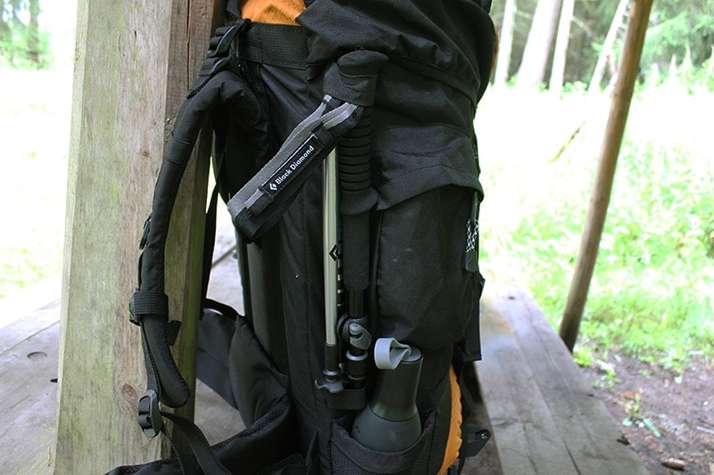 Teton Sports Scout 3400 side pockets and storage options